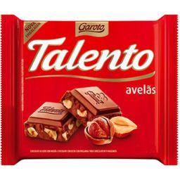 Chocolate Talento Avelãs 90 g