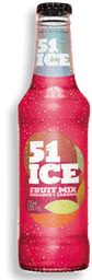 Destilado Aguardente 51 Ice Morango E Laranja 275 mL