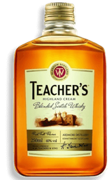 Destilado Whisky Teachers 250 mL