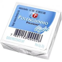 Laticinio Queijo Polenguinho Light 20 g