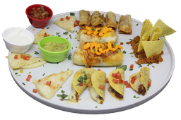 Combo Misto - Quesadila, Taco e Burrito