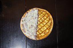 Pizza Doce Meio a Meio - Grande