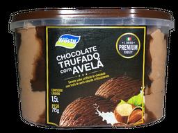 Sorvete de Chocolate Trufado com Avelã - 1,5L