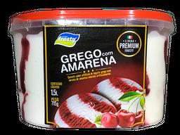 Sorvete Grego com Amarena - 1,5L