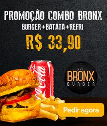 Combo Bronx Burger+Batata+Refri