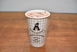 Milkshake de Chocolate com Calda de Nutella