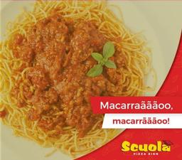 Spaghetti ao Molho Branco
