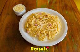 Spaghetti á Carbonara