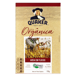AVEIA QUAKER FLOCOS ORG 170 g REGULAR