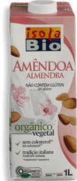 Bebida Arroz Isolabio sem Glúten Amendoa 1L