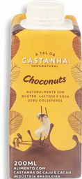 Bebida Vegetal A Tal Da Castanha Choconuts  200 mL