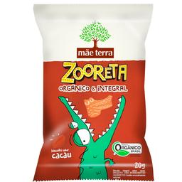 Biscoito Zooreta Orgânico 20 g Cacau