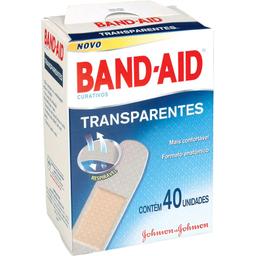 Curativo Band-Aid Transparente C/40
