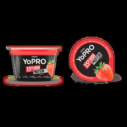 Iogurte Com 15G De Proteína Yopro Morango 160G