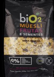 Bio2 Mix de Frutas Muesli Frutas e Sementes