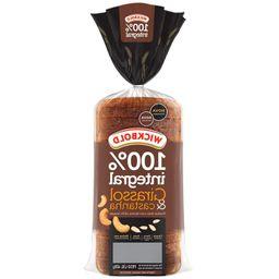 Pão Wickbold Grão Sabor 100% Integral Girassol e Castanha 400 g