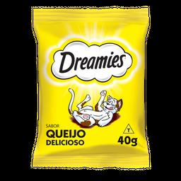 Petisco Dreamies Queijo Para Gatos Adultos 40 g