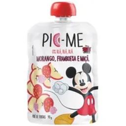 Pouch Pic Me Maca Disney Morango E Framboesa 90 g