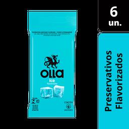 Preservativo Olla Ice Com 6