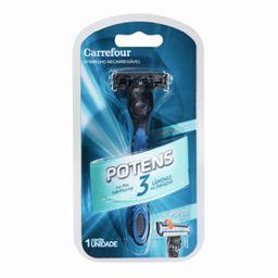 Aparelho Barb Carrefour Potens 3 Laminas