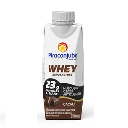 Compre 2 Ganhe 30% Bebida Whey Zero Lactose Piracanjuba Cacau 25
