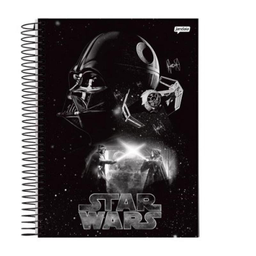Caderno Undversitário Cd 1X1 Star Wars