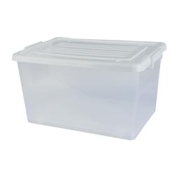 Caixa Organizadora Transparente 50 L