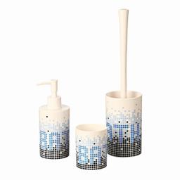 Conjunto P Banheiro Mosaico 3 Peças