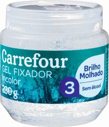 Gel Fix Carrefour Incolor Pote 230 g