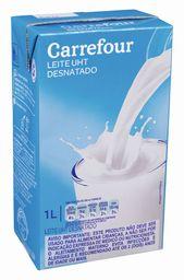 Leite Uht Desn Carrefour Tp 1 L