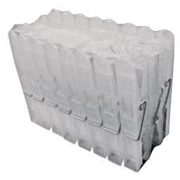 Prendedor Carrefour Home com 24 Peças Branco