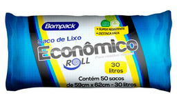 Saco Para Lixo Super Econômico 30 L