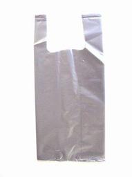 Sacola Plastica Cinza Sem Logo