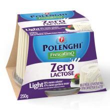 Queijo Frescatino Zero Lact Polenghi 250 g