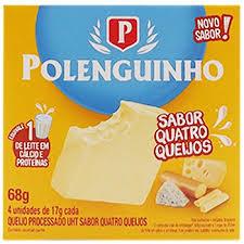 Queijo Polenguinho Quatro Queijos 4X17G