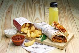 Combo Kebab + Fritas + Bebida da Casa