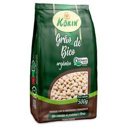 Grão De Bico Orgânico Korin 500 g