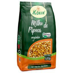 Milho Pipoca Orgânico Korin 500 g