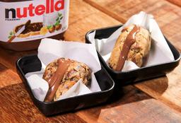 Sanduíches de Cookies com Nutella Tradicional