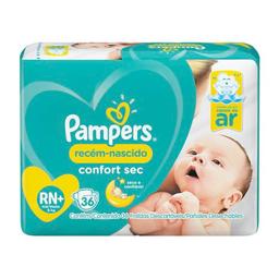 Fralda Pampers RN Confort Sec Econômica 36 Und