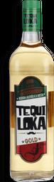 Aperitivo Tequila Tequiloka Gold 1 L
