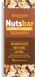 Barra Cereal Nuts Zero Nutsbar Chocolate 50 g