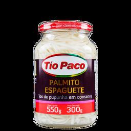 Tio Paco Palmito Pupunha Espaquete