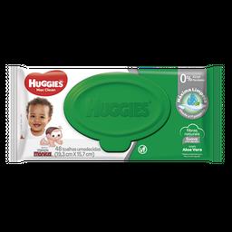 Lenços Umedecidos Huggies Max Clean - 48 unidades