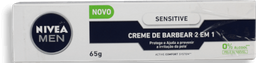 Creme Barbear Nivea 2Em1 Sensitive 65 g