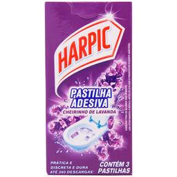 Desodorizador Sanitário Harpic Pastilha 3 Und