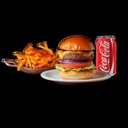 Burger Salad + Fritas + Bebida