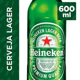 Cerveja Heineken - 600ml