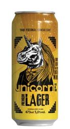 Cerveja Unicorn Premium Lager Lata 473 mL