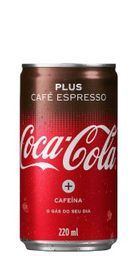 Refrigerante Coca Cola Café Expresso Lata 220 mL